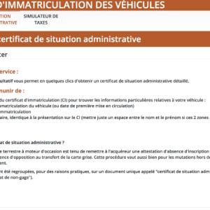 Epaviste Enlevement Voiture Gratuit Ile de France LE CERTIFICAT DE NON GAGE 1 300x300 - Documents nécessaires